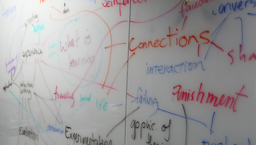 image of a whiteboard with writing