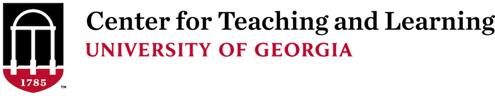 Center for Teaching and Learning at the University of Georgia Logo